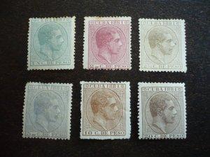 Stamps - Cuba - Scott# 94-99 - Mint set of 6 Stamps