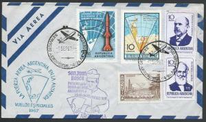ARGENTINA ANTARCTIC 1967 cover Pope's visit etc............................53582