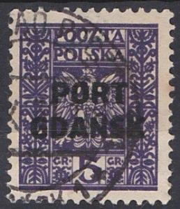 Poland - Offices in Danzig 1K20 used (1929)