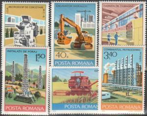 Romania #2784-9 MNH  (S447L)