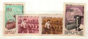 North Vietnam Scott 72-5 Mint NH [TG984]