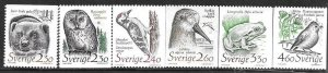 1989    SWEDEN  -  SG.  1431 / 1436  -  THREATENED  HABITATS   -  MNH