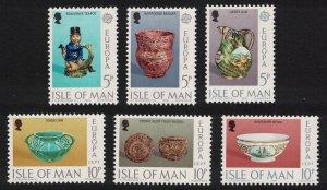 Isle of Man Europa Ceramic Art 6v SG#84-89 SC#86-91