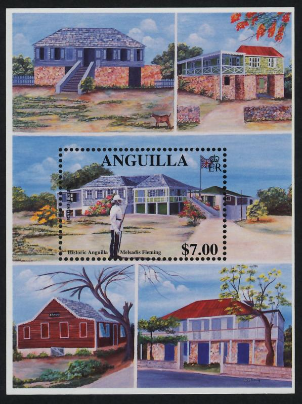 Anguilla 1033 MNH International Arts Festival, Historic Buildings