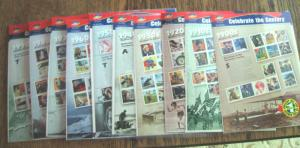 CELEBRATE THE CENTURY - COMPLETE COLLECTION -  10 PANES    MNH     (cn)
