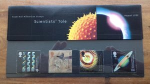 Great Britain 1999 A Scientists Tale Mint