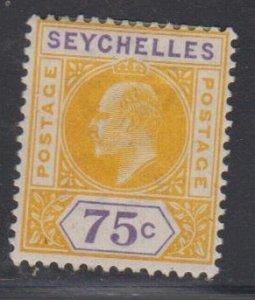 SEYCHELLES - Sc 46 / MINT HR - Edward VII