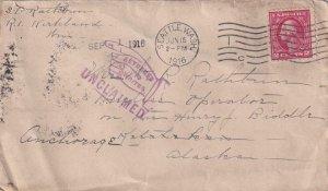 1916, Seattle, WA to Ketchikan, AK, RTS, See Remark (41979)