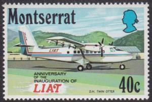 Monserrat 1971 SG284 UHM