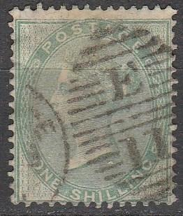Great Britain #28  F-VF Used CV $300.00  (A8613)