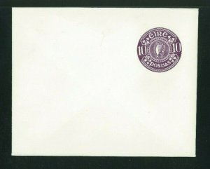 Ireland 1978 10p purple Postal Stationery Envelope, MacDonnell Whyte PSE12