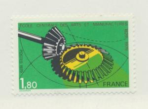 France Scott #1680, Mint Never Hinged MNH, Technical School of Paris Issue Fr...