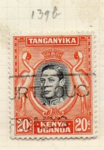British KUT 1938 Early Issue Fine Used 20c. 280794