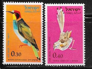 Israel MNH C31-2 Birds