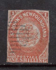 Newfoundland #15 Used Rare Classic **With Certificate**