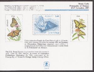 US SC121 Monte Carlo Souvenir Card