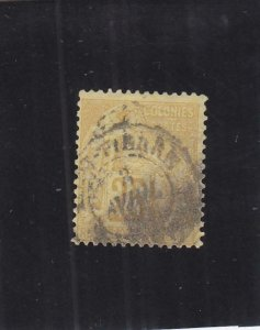 St. Pierre & Miquelon: Sc #53, Used, French Colonies Used in St. Pierre (34003)