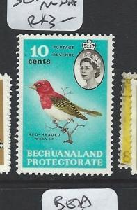 BECHUANALAND (B1903)  QEII  BIRD  10C  SG175  MNH
