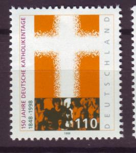 J13652 JLstamps 1998 germany set of 1 mnh #2006 religion
