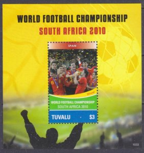 2010 Tuvalu 1617/B150 2010 FIFA World Cup in South Africa
