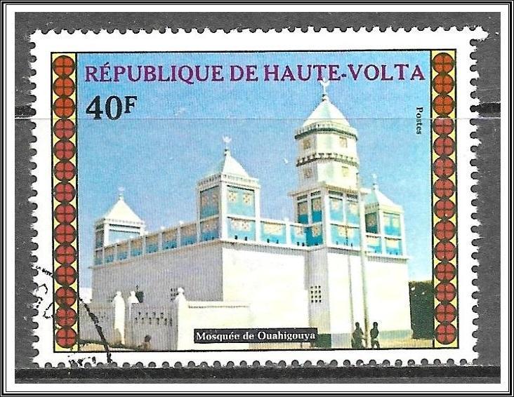 Upper Volta #308 Houses of Worship CTO NH