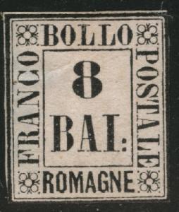 Romagna Scott 8 Mint No Gum MNG 1859