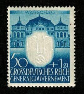 Deutsches Reich WARSCHAV 50ZL+1ZL (T-9865)