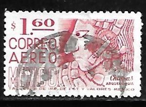 Mexico C474: 1.60p Chiapas, Bas Relief, used, F-VF