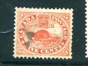 Canada #15 Used extremely well centered - scarce