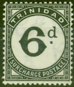 Trinidad 1945 6d Black SGD23 Fine Lightly Mtd Mint
