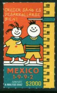 MEXICO 1721, HEALTHY CHILD DEVELOPMENT.  MINT, NH. VF.