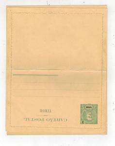 Mint Timor Portuguese Colony Overprint Postal Stationary Postcard Cover