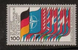 GERMANY SG1914 1980 25th ANNIV OF NATO MEMBERSHIP MNH