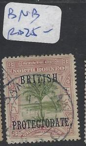 NORTH BORNEO (P2810B)  3C PB TREE BNB  CANCEL  VFU