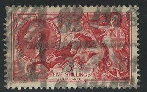 Great Britain Scott 180 Used! King George V Britannia Rule the Waves!