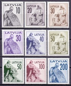 Latvia. 1992. 326-34. monument. MNH.