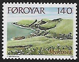 Faroe Islands # 33 - Mykines Coast - MNH
