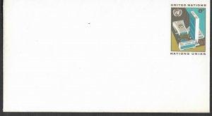 UN-NY # U5  8c Small  Envelope 1973    -  Mint     (1)