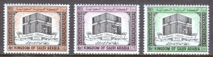 Saudi Arabia - Scott #344-346 - MNH - SCV $20