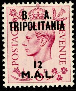BRITISH OC OF ITALIAN COLONIES SGT21, 12l on 6d purple, M MINT.