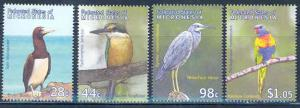 MICRONESIA BIRDS OF THE PACIFIC SET MINT NH
