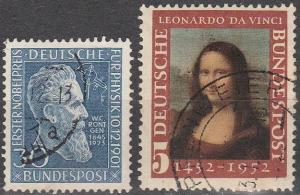 Germany #686-7 F-VF Used CV $17.40 (D83)