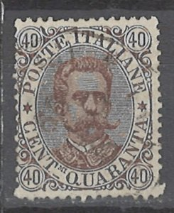 COLLECTION LOT # 2418 ITALY #53 1889 CV=$17.50