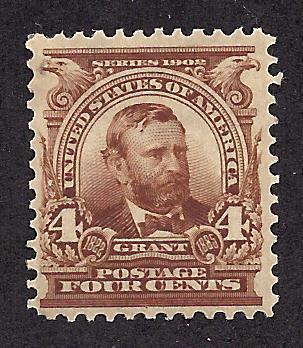 303 Mint,OG,H... SCV $60.00... Dark Brown