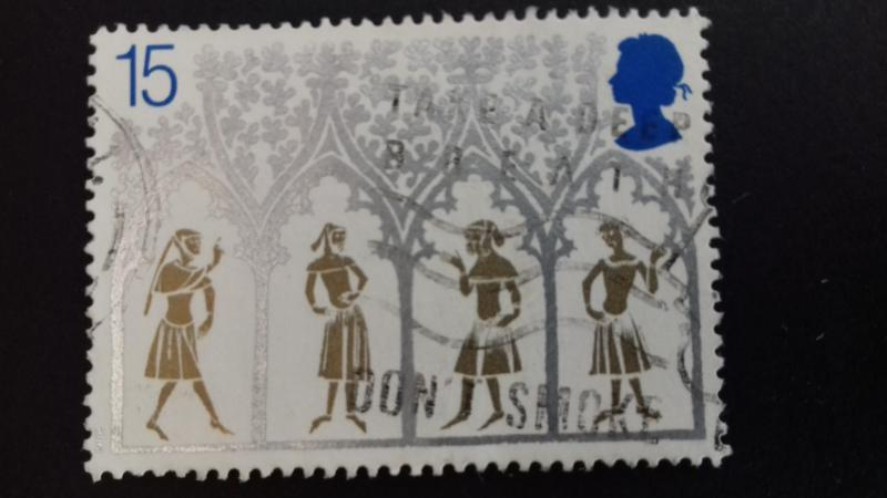 Great Britain 1989 Christmas Stamps Used