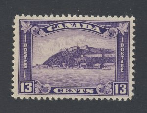 Canada Stamp #201-13c Quebec Citadel MH F/VF Guide Value = $45.00