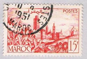 French Morocco 246 Used Walled City 1949 (BP2565)