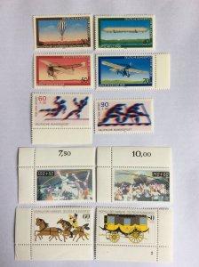German 4 sets of MNH stamps