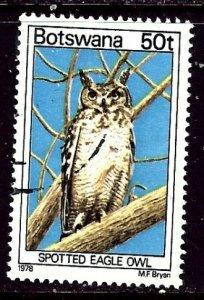 Botswana 211 Used 1978 Birds    (ap6211)