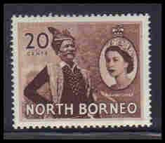 North Borneo Very Fine MLH ZA5645